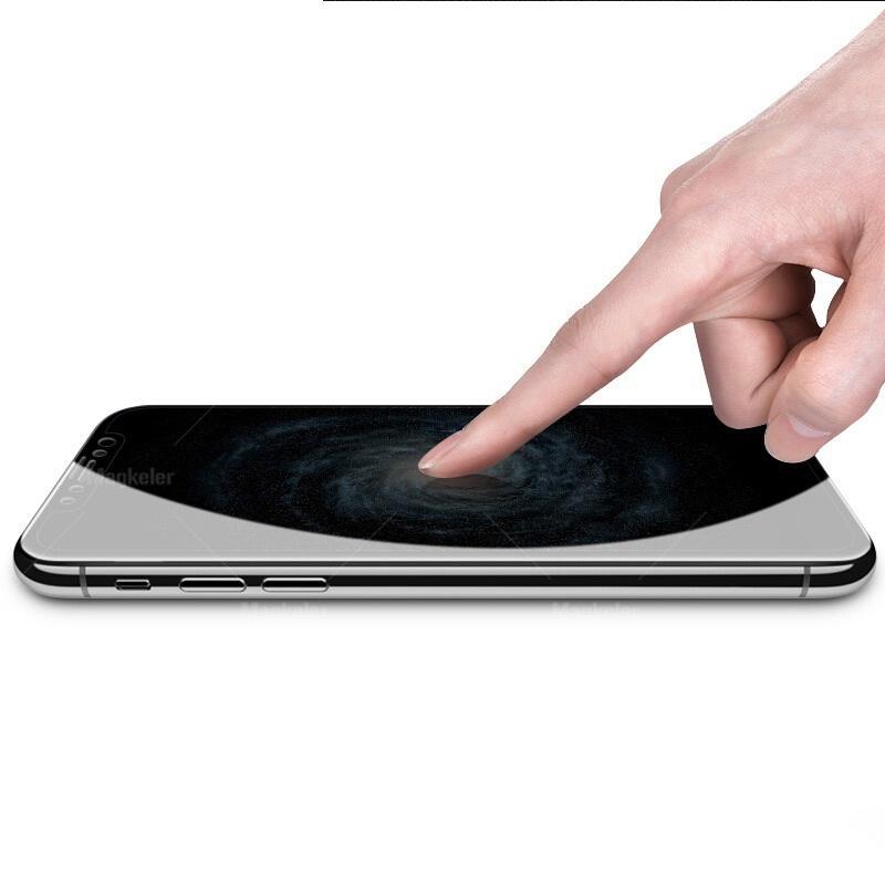 Anti-Casus Gizlilik Tam Kapak Temperli Cam Koruyucu Ipek Baskılı Xiaomi 9x Redmi 9 9A 9C K30 Pro K20 100 adet / grup Basit OPP