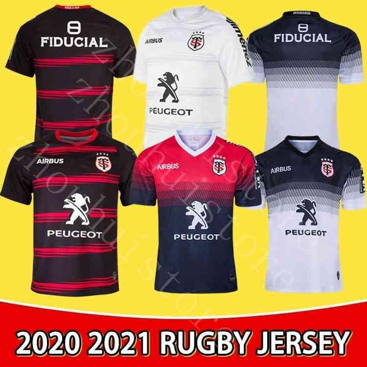 Stade Toolousain 2020 2020 2021 الكبار سوبر الرجبي جيرسي لو ستاد قميص تولوز مايلوت camiseta ماجليا قمم S-5XL trikot camisas