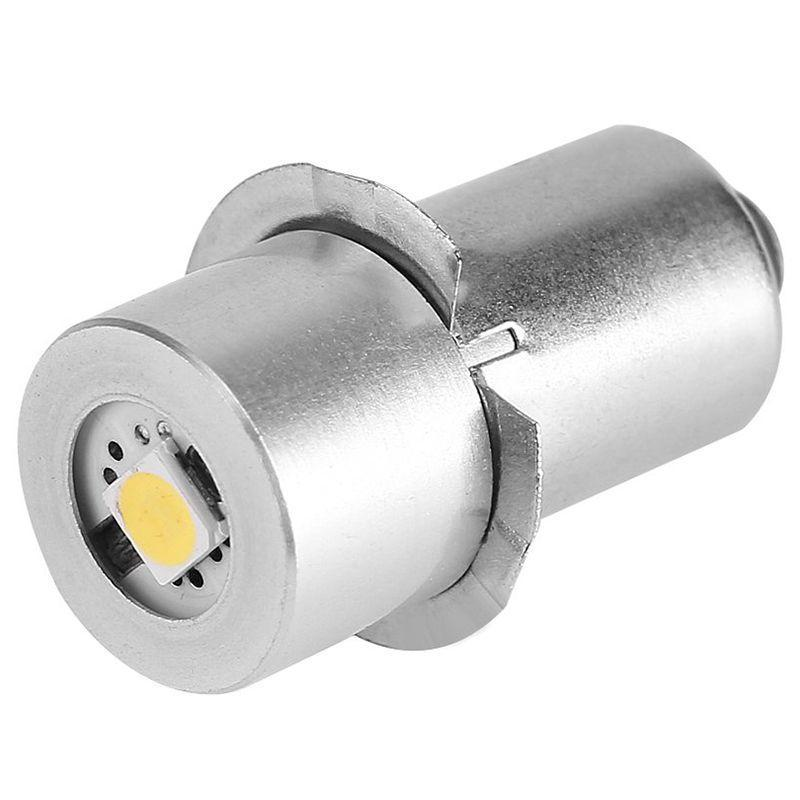 Flashlights Torches 1W P13.5S Led Bulb, 100~110LM 2700~7000K Replacement Bulb Torch Lamp Emergency Work Light