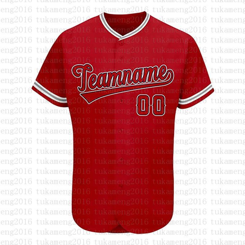 مخصص لوس أنجلوس الجدة زر أسفل البيسبول الفانيلة شخصية مراوح القميص للرجال تيماني الاسم والعدد للحصول على هدية مخيط أحمر