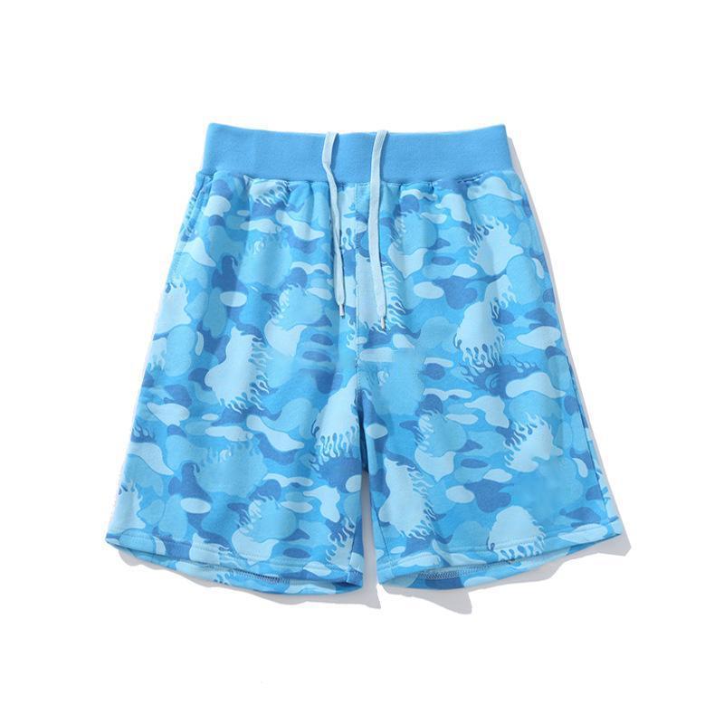 Summer Hommes Designer Shorts Mode Couples de haute qualité Plage Pantalons de camouflage Motif de camouflage Femme Pant court rose