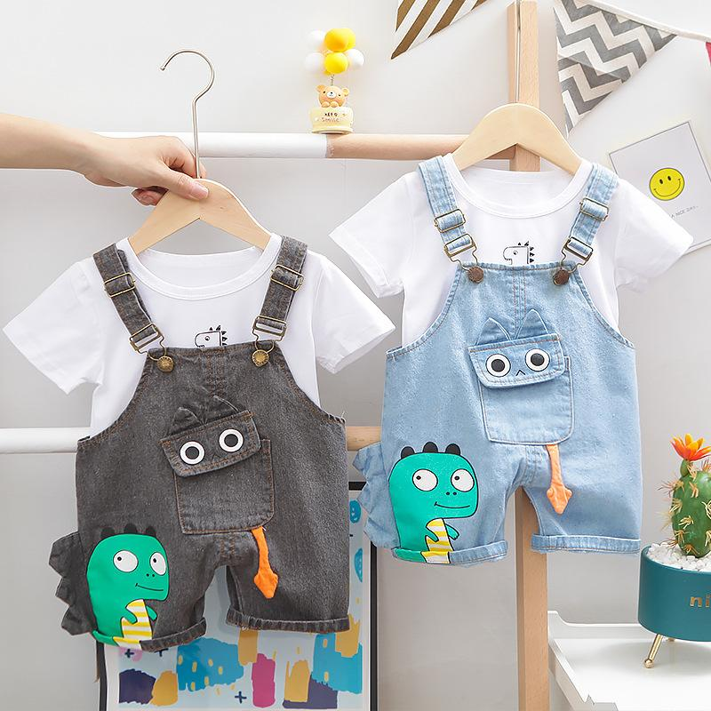 Lawadka baby boy conjuntos de bebês recém-nascidos menino roupas shorts manga tops macacão 2 pcs roupas de verão roupas dos desenhos animados 2021 994 x2