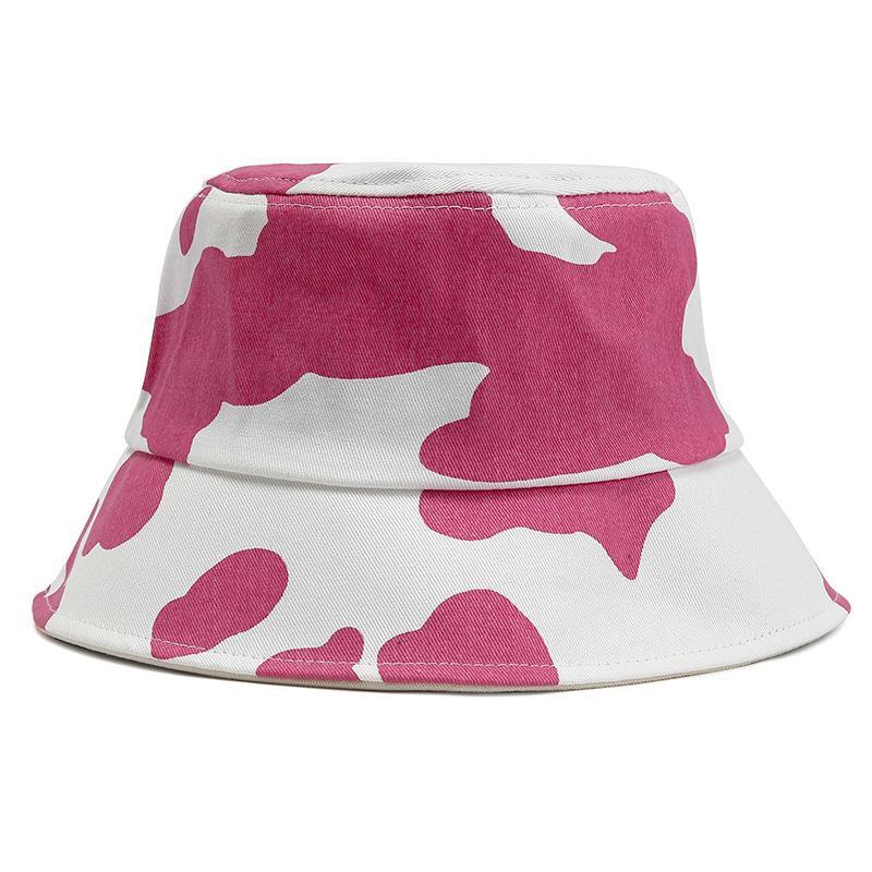 Заводская оптовая продажа новых рыболова корейская мода мужская женская корова бассейна галстука окрашена в весеннюю шляпу за затенением весной и летом