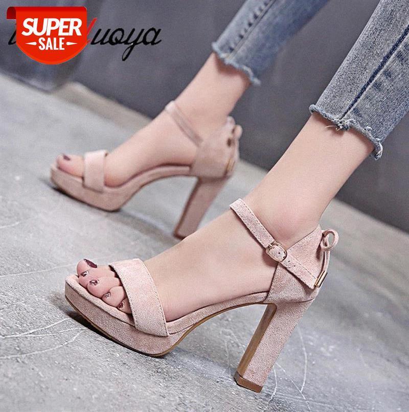 Women Sandals 2019 Summer shoes Sexy high Heels Casual Gladiator Stilettos Ladies heel #Bq5G