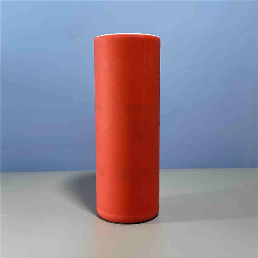 Luminando suprimentos sublimação caneca de silicone wraps 20oz tumblers retos envoltórios completos wholecover acessórios de transferência térmica reutilizável A02