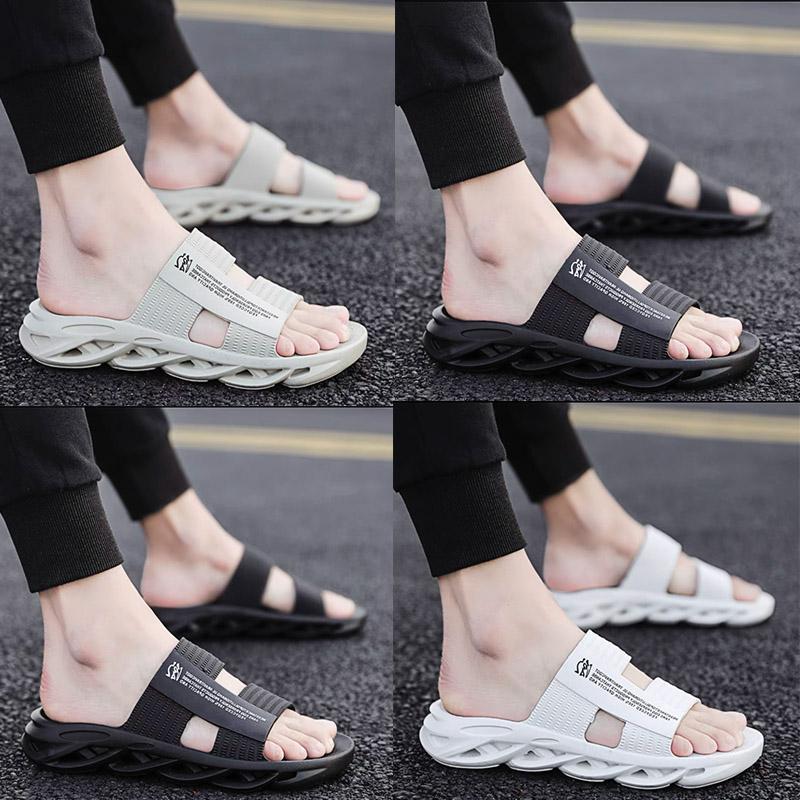 New Hot Slippers sandals Sneakers Shoes Graffiti Bone White Resin Desert Sand Summer Earth Flat Men Women Beach Classic fashion Outdoor Trainers