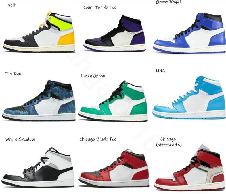 1 1s Basketball Shoes Boots Jumpman Fashion Mens Womens Travis DIO Hyper Royal Cactus Jack University Blue Twist Chicago Dark Mocha Sneakers Sports a10
