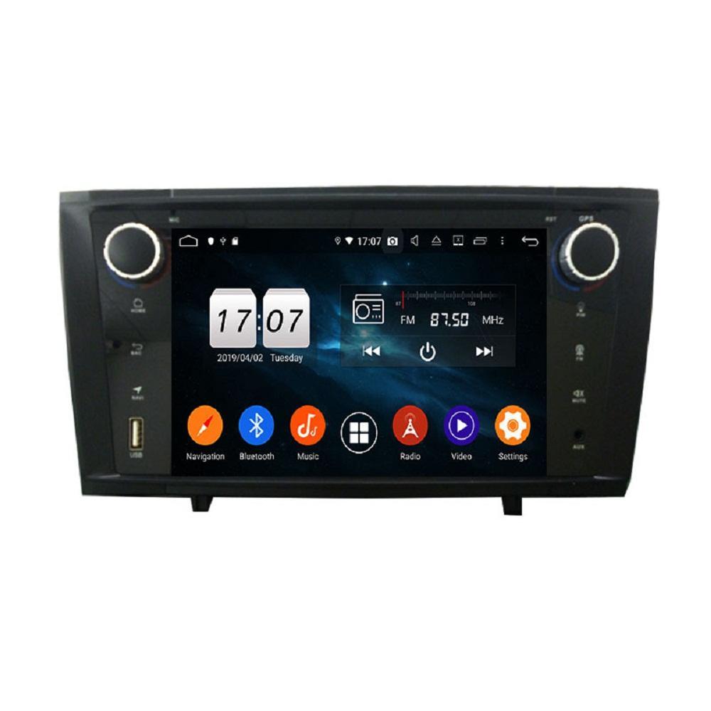 """4GB + 128GB 2 DIN 7 """"PX6 안드로이드 10 자동차 DVD 플레이어 Toyota Avensis 2010-2015 DSP 라디오 GPS 네비게이션 블루투스 5.0 WiFi 용 멀티미디어 헤드 유닛"""