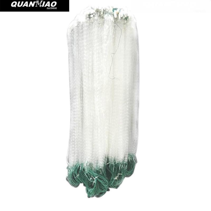 Net de pêche Quanmiao Nylon unique Nylon durable Piège de flottement durable Monofilament Gill Accessoires pour casting à la main1