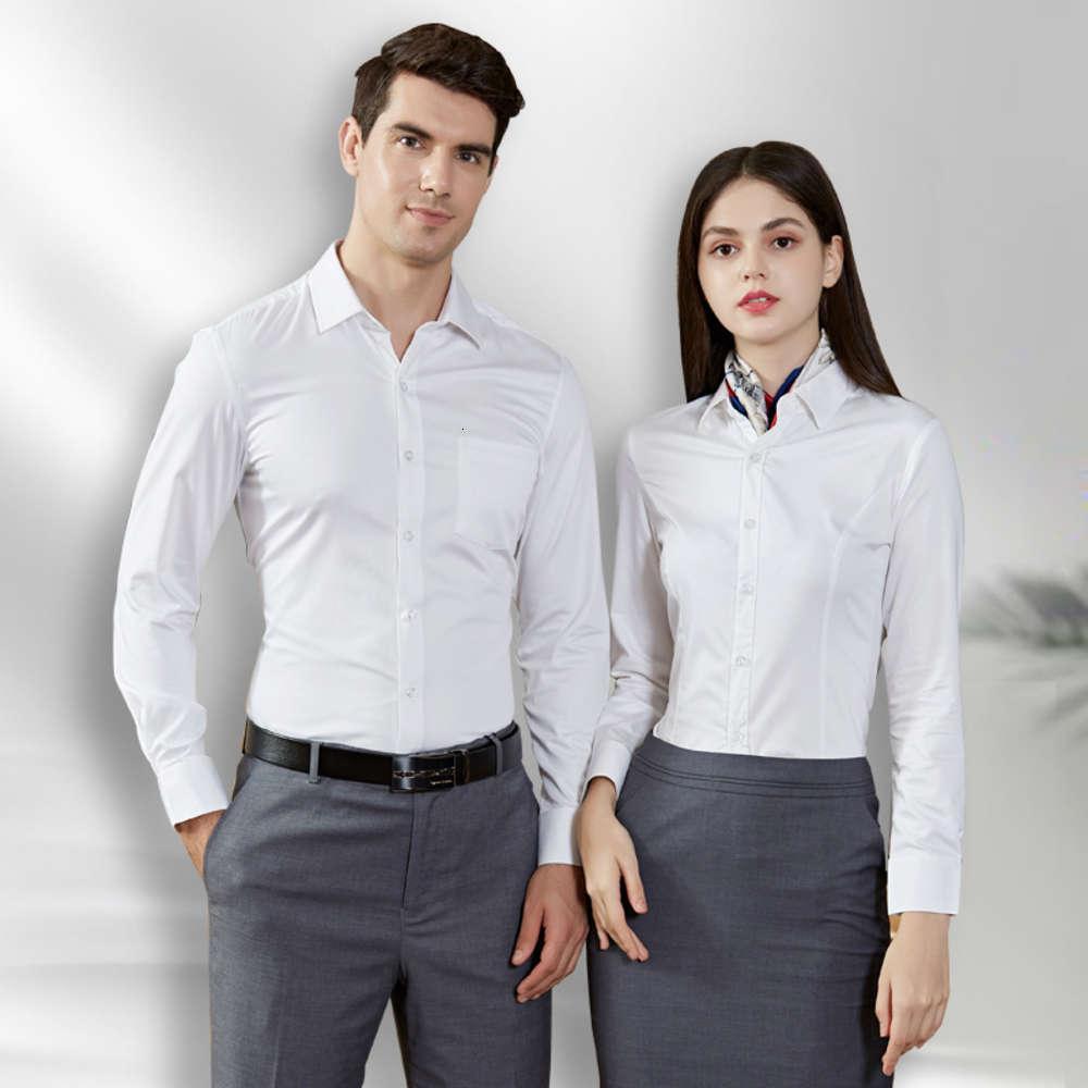 Männer professionelle Kleidung Kein eiseriges dünnes Stretch-Shirt-Geschäft bestickter Oberseite