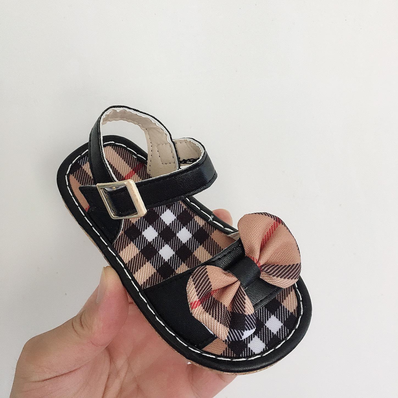 Yaz Bebek Kız Çocuk İlk Walkers Sandalet Bebek Yürüyor Klasik Spor Kaymaz Yumuşak Taban Ayakkabı Sneakers