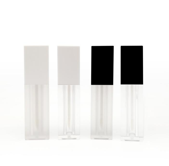 5ML Transparent Clear Lipgloss Lipstick Packing Bottle Empty Frosted Cosmetic Eyelashes Growth Liquid Eyeliner