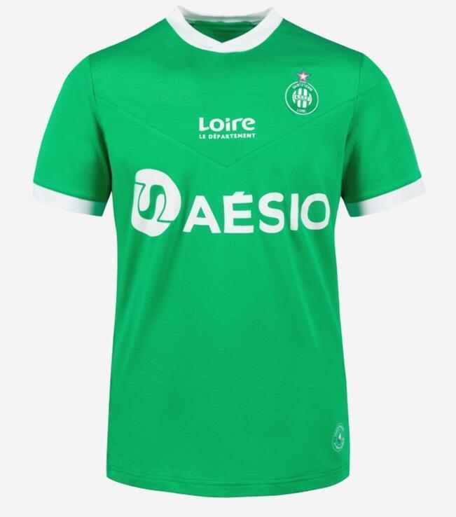 20 21 Saints AS SAINTS ETINNE 축구 유니폼 2020 2021 Maillot Asse Etienne Khazri Cabella Beric Nordin Hamouma 축구 셔츠 유니폼