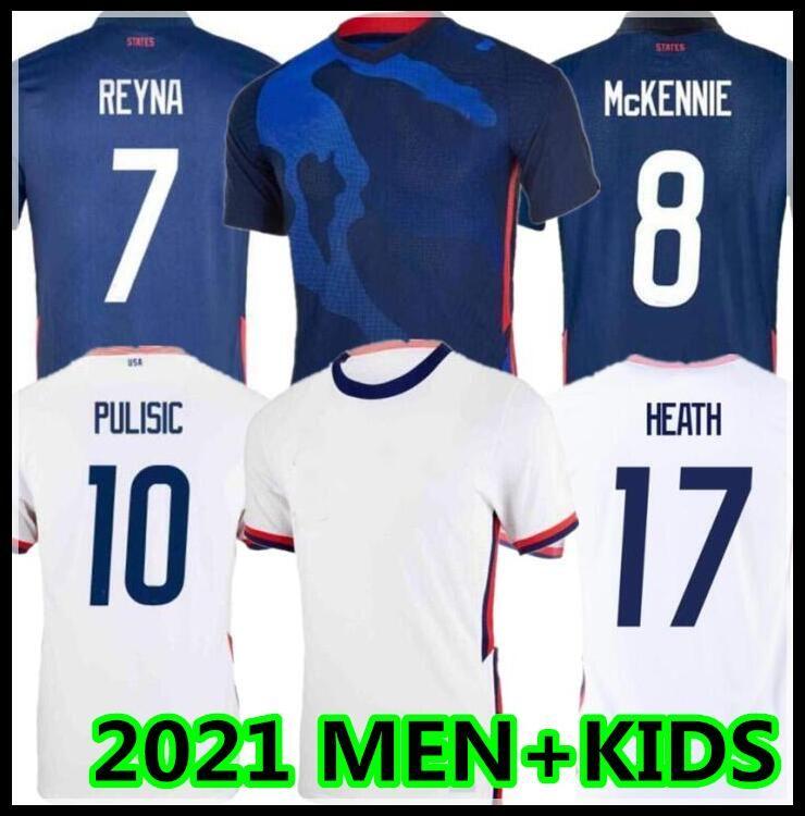 2021 Соединенные Штаты Футбол Джерси Ertz AltiDore 2020 Пресс для прессы Древесина Морган Ллойд Америка Футбол Футбол Футбол Футболка Рубашка Pulisic Mckennie CamiSetas Usmnt Loltget Men + Kids