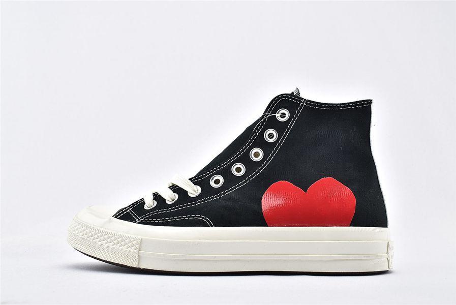 1970'lerde Büyük Gözler Chuck 70 Tuval Ayakkabıları Çok Kalp 70'ler Merhaba Klasik 1970 Ortak Adı Kaykay Eğitmenler Rahat Spor Sneakers