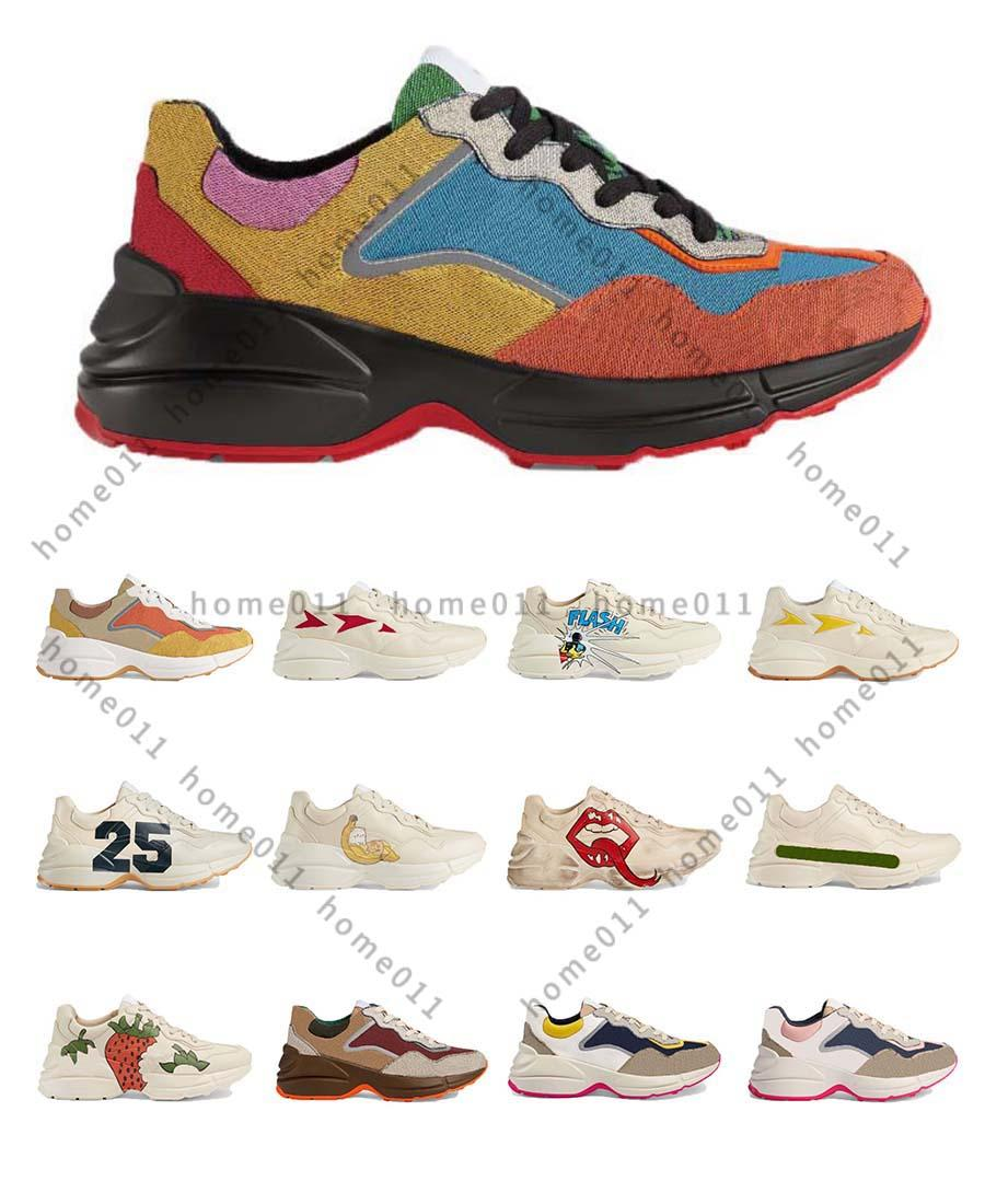 Classics Quality Leather Men Women Designer Shoes Sneakerss Tylist Lates Encaje Up Sneaker Caucho Shoe Top Platform Shoe Home011 050