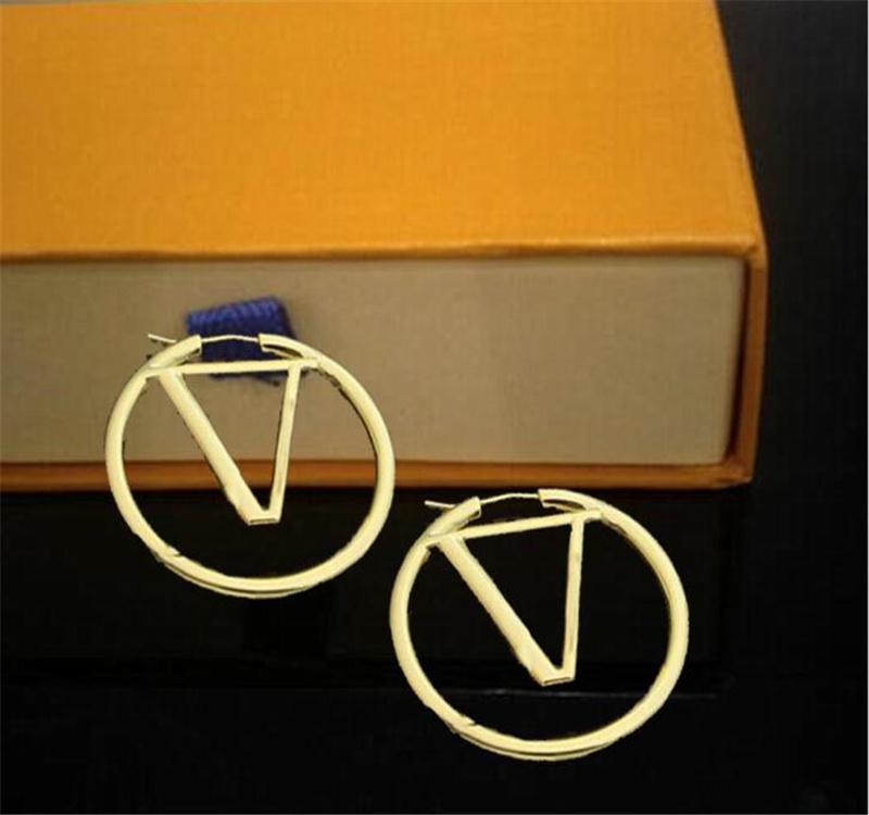 2021 Christmas Best gift Designers Earrings luxury jewelry Gold Silver Elegant Fashion women earrings