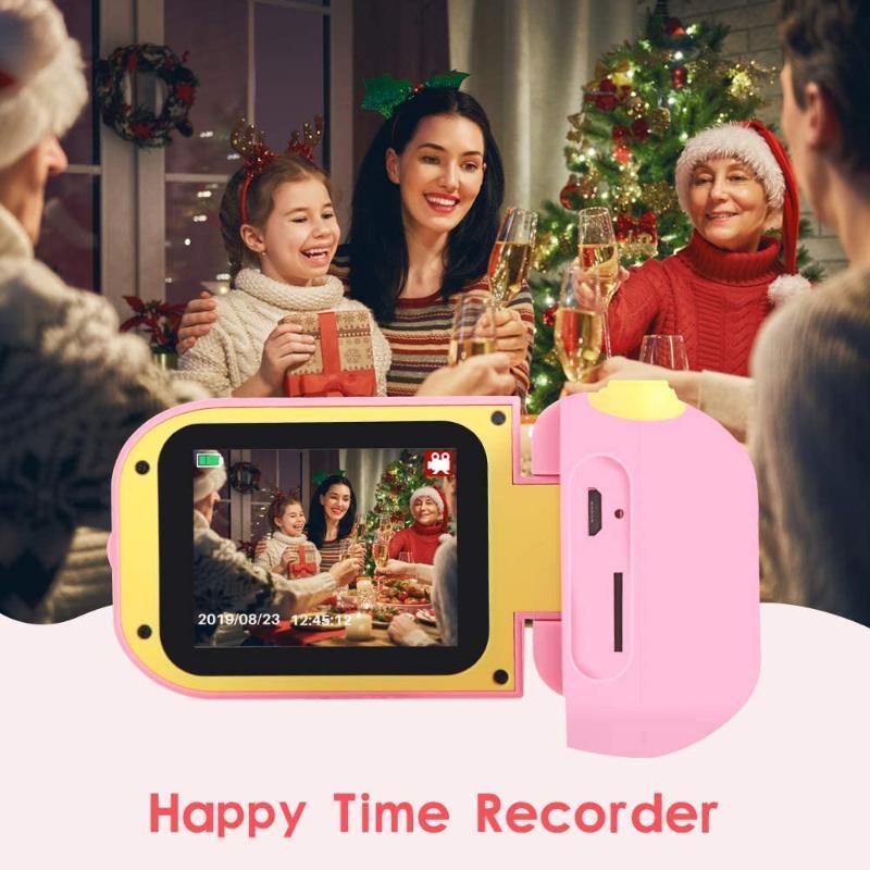 Mini 2.2inch 20 Million HD LCD Screen Children Kids Camera Video Recorder Cameras Foldable Structure For Gift Digital