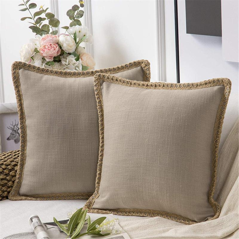 Kissen / dekorative Kissen skandinavisch Windkissenbezug Luxus dekorative lange Kissenschale für Sofa