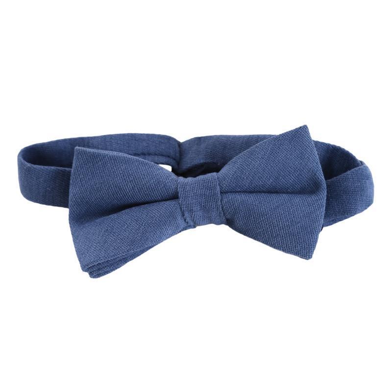 Pantaloni di prua 2021 Pure Color Tie Giallo Blu Colorato Colo Colorato Cottone Partito Classico Abito da sposa Struttura Farfalla