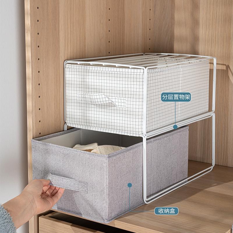 Cotton And Linen Storage Box Foldable Large Waterproof Laundry Bucket Home organizer