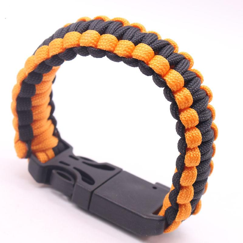 bracelet Five in one creative compass survival for outdoor travel hand woven umbrella rope