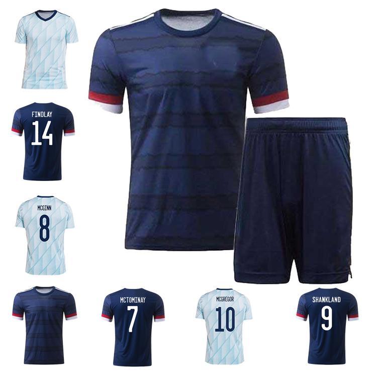 2021 2022 Escocia Jerseys de fútbol Hogar Alejado Robertson Fraser Fútbol Camisa Naismith McGregor Christie Forrest McGinn Hombres Niños