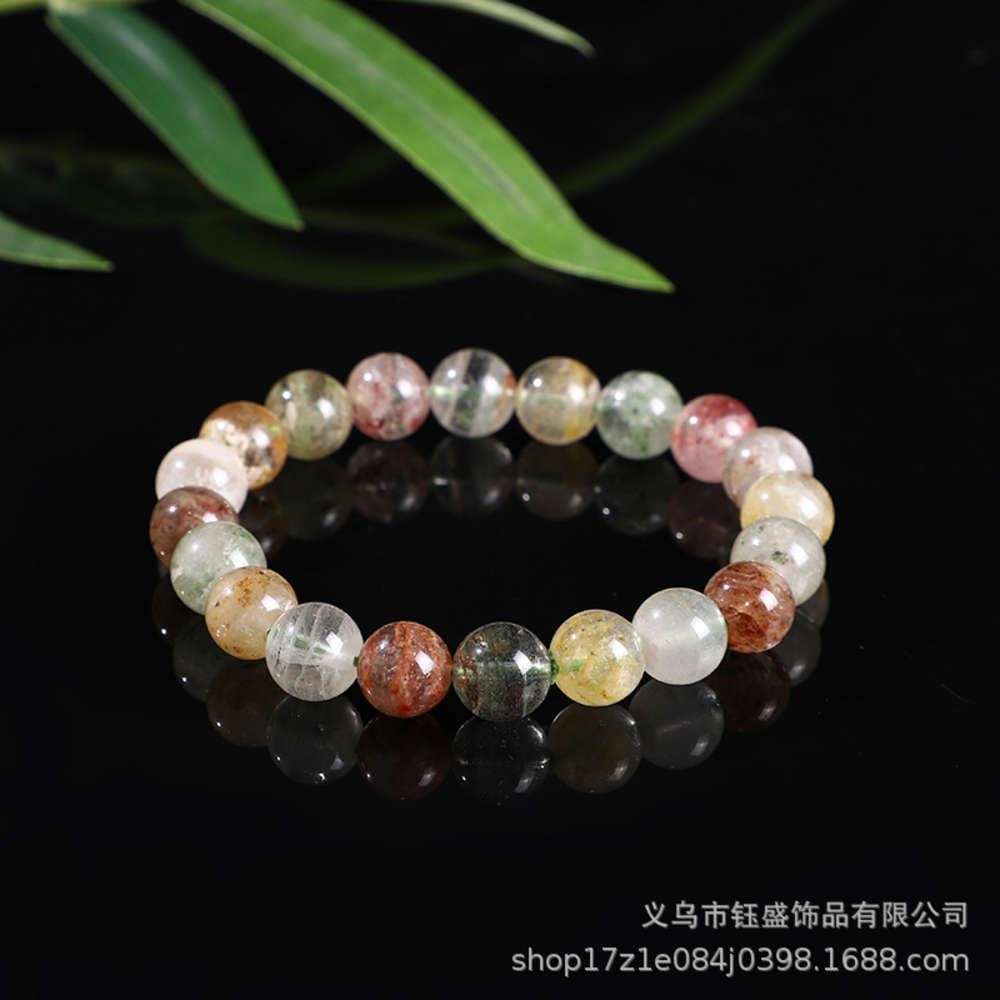 Enlace natural Mal Capa Color Ghost Crystal Bracelet Single Circle Hand String