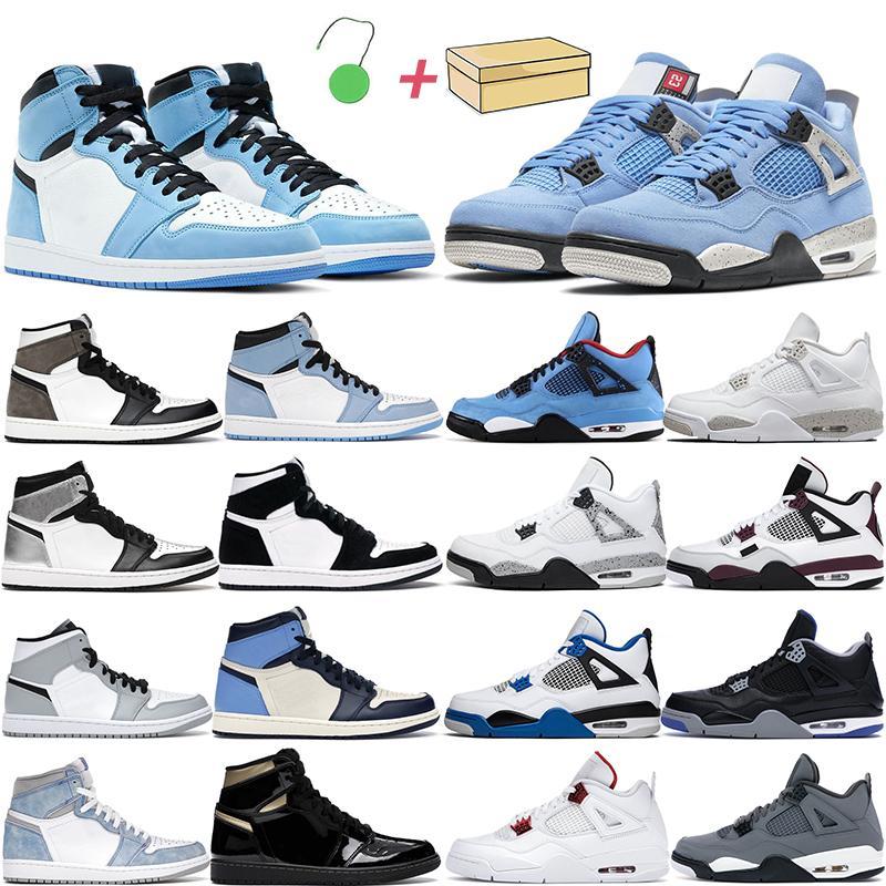 4s chaussures de basketball hommes femmes sautant 1s high og hyper royal cool greyuniversity bleu chat noir chat turbo vert blanc oro hommes baskets
