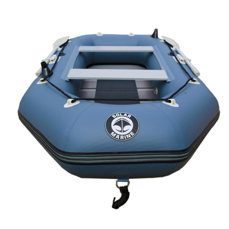 شخص 330 سنتيمتر طول الطابق الهواء المهنية المطاطية قارب الصيد نفخ مغلفة ارتداء مقاومة الطوافات / نفخ القوارب