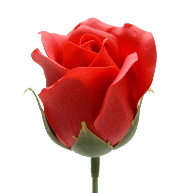50 قطع الاصطناعي عقد الزهور روز الصابون زهرة رئيس diy هدية لعيد الحب عيد الأم زفاف ديكور المنزل سكرابوكينغ 1356 v2