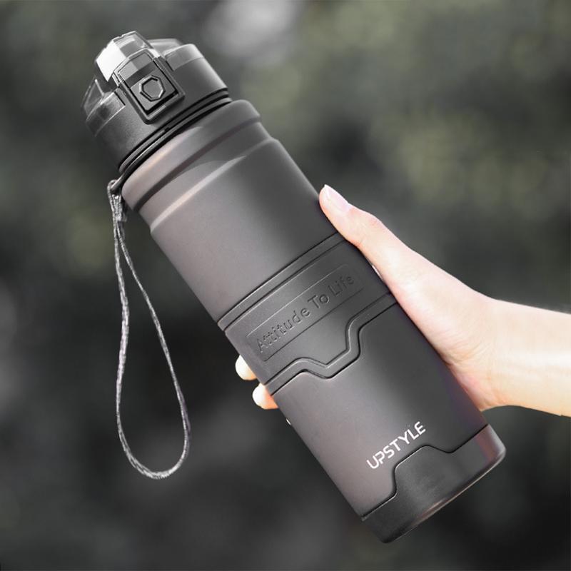 Бутылка с водой upstyle 1000ml портативный герметичный защитный спортивный тренажерный зал Фитнес питьевой бутылки