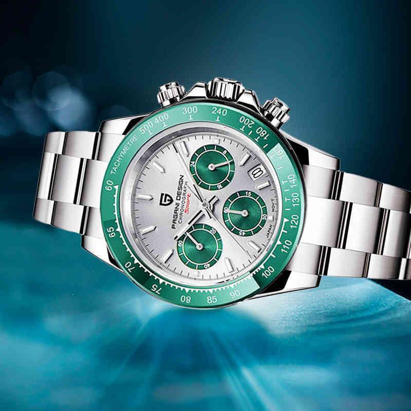 2021 جديد باغاي ووتش تصميم auartz ساعة للرجال الفاخرة الأعمال التجارية الذكور ساعة اليد في الساعة