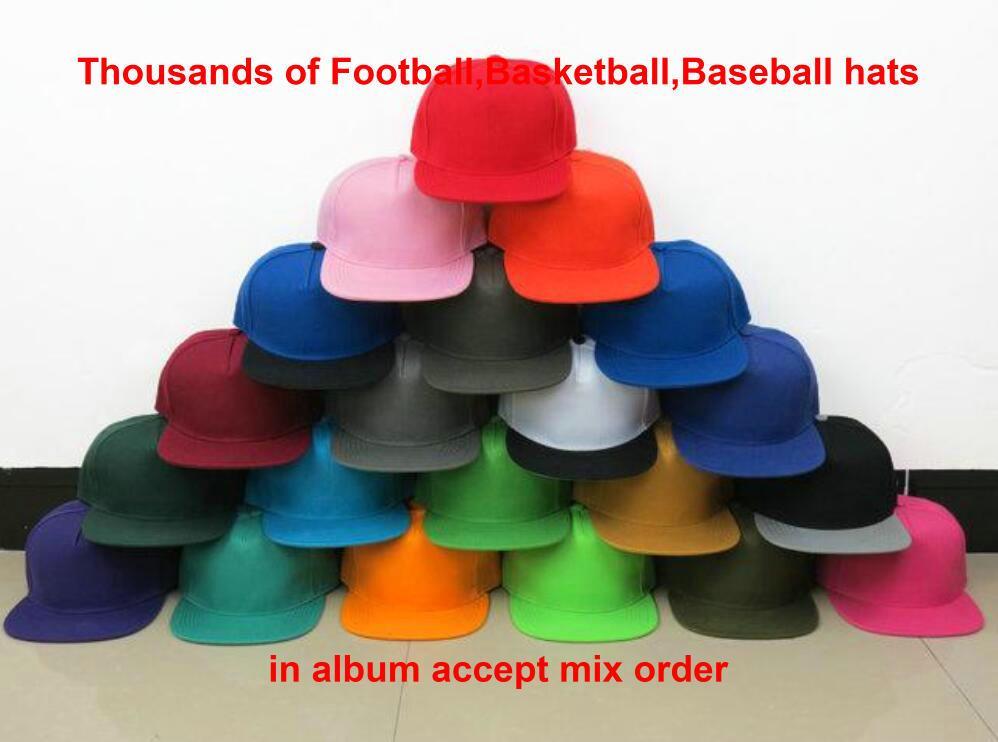 Wholesale Baseball Sport Team Snapback Cap All Football Hats for Men Women Cheap Adjustable sports Visors Hip-Hop Caps More Than 10000+ a11