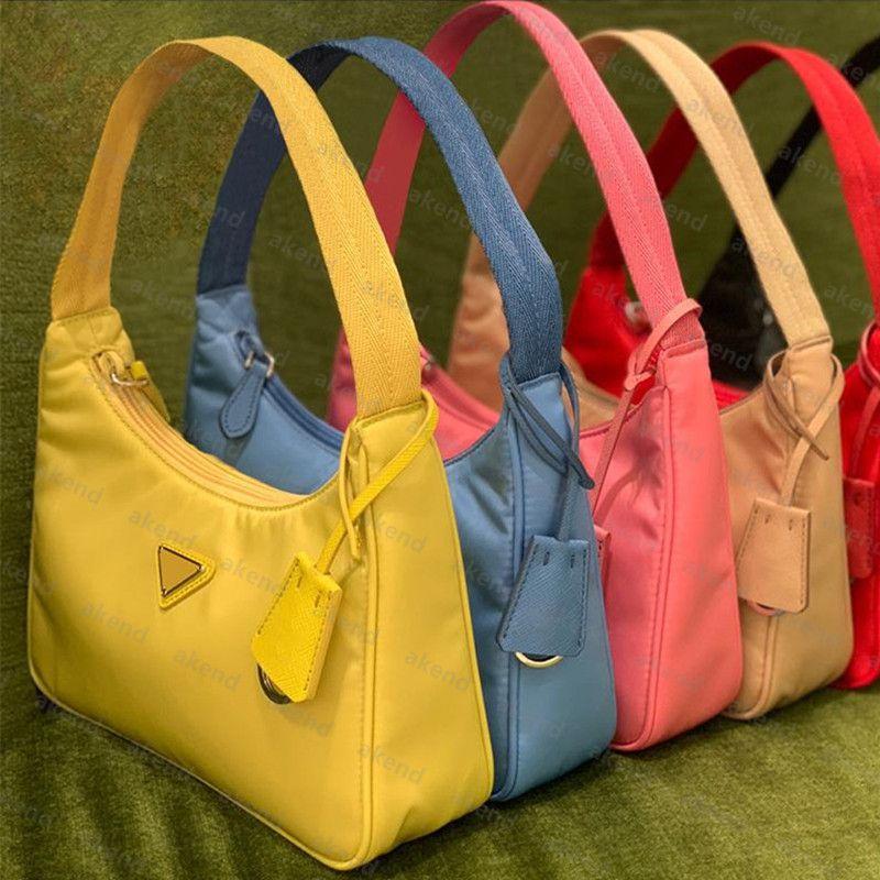 Casas de cosméticos de diseño de lujo de alta calidad para mujer Cajas de asas de nylon billetera de moda de cuero de moda regalo de cuero hombro bolso de embrague bolso bolso hobo cruz cuerpo