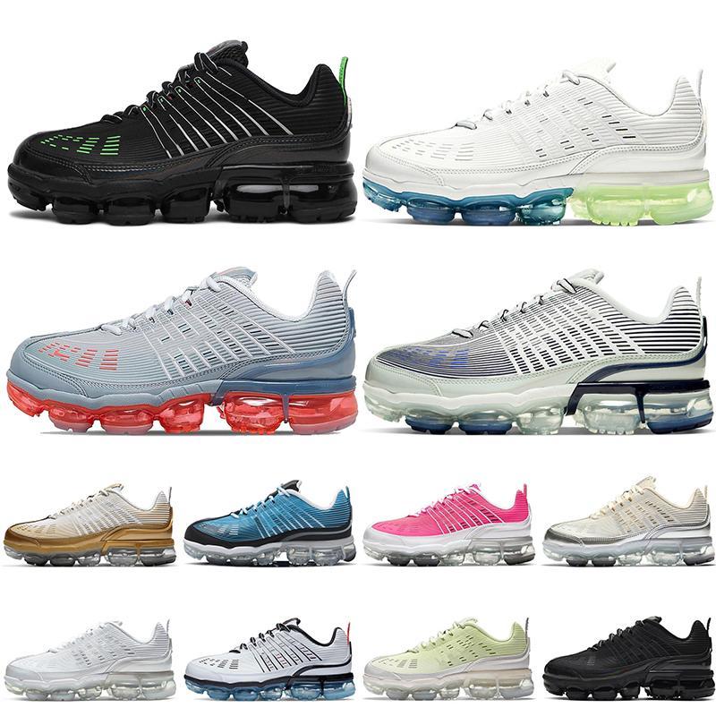 Nike Air VaporMax 360 2020 رجل إمرأة المرأة 2020 360 الاحذية العدائين التدرج العلوي الليزر الليزر البرتقال الثلاثي الأسود الأبيض العدائين الرياضة أحذية رياضية المدربين