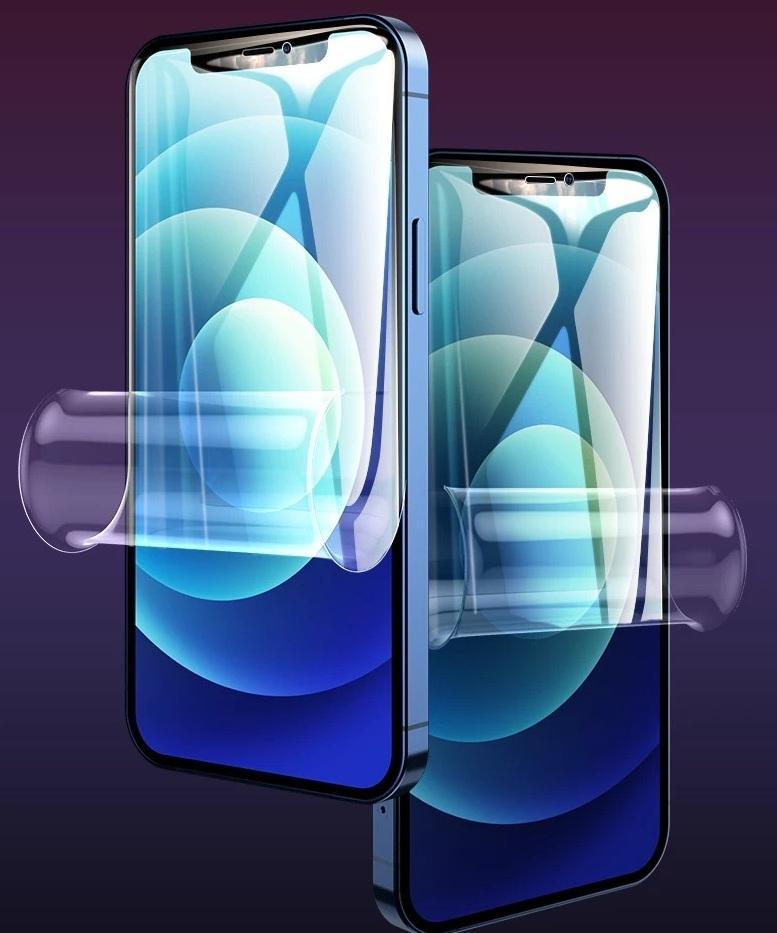 Protetor de tela de película de hidrogel suave curvo para iPhone 12 SE 11 pro máx 6 7 8 mais 200 pcs / lote