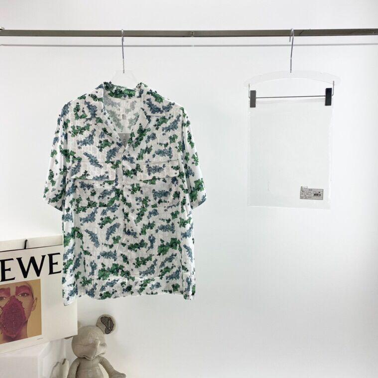21ss yeni moda kadın ve erkek baskılı kısa kollu rahat tüm maç T-shirt yüksek kaliteli yuvarlak boyun kumaş t-shirt 777J
