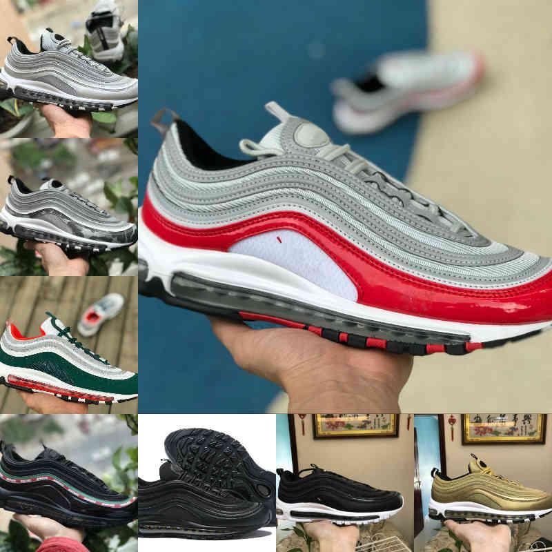 Satmak 2021 Yeni Üçlü Beyaz OG X Erkek Açık Koşu Ayakkabıları Bred Unfftd Undededed Siyah Şerit Bullet Metalik Altın Zeytin Erkek Kadın Spor Sneakers X7