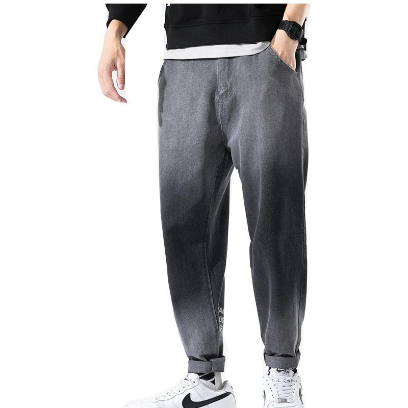 Jeans Masculinos Pantalones Vaqueros Largos Retro Lavados Para Hombre, Clásicos Elásticos Ajustados, Informales, Reto Hasta El Tobillo