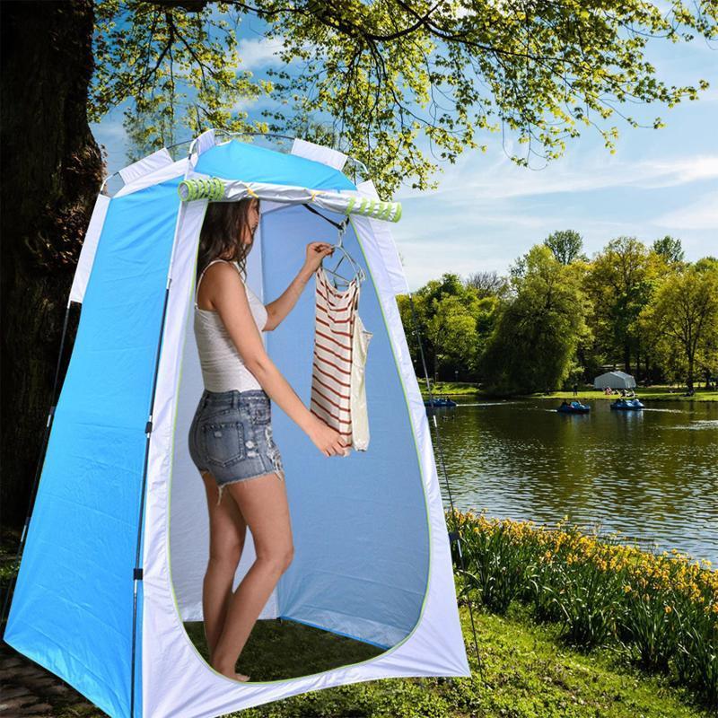 المحمولة الخصوصية دش المرحاض التخييم حتى وظيفة خيمة الملابس في الهواء الطلق الملابس في الهواء الطلق المشي لمسافات طويلة الخيام والسفر