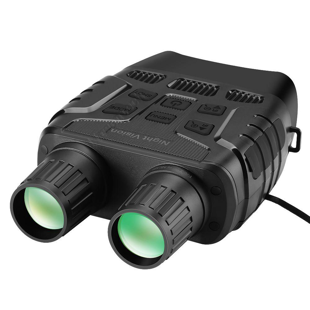 Dispositivo de caza infrarrojo de la visión nocturna impermeable Telescopio 300M Observador Distancia en la oscuridad completa 4x zoom 720p Video
