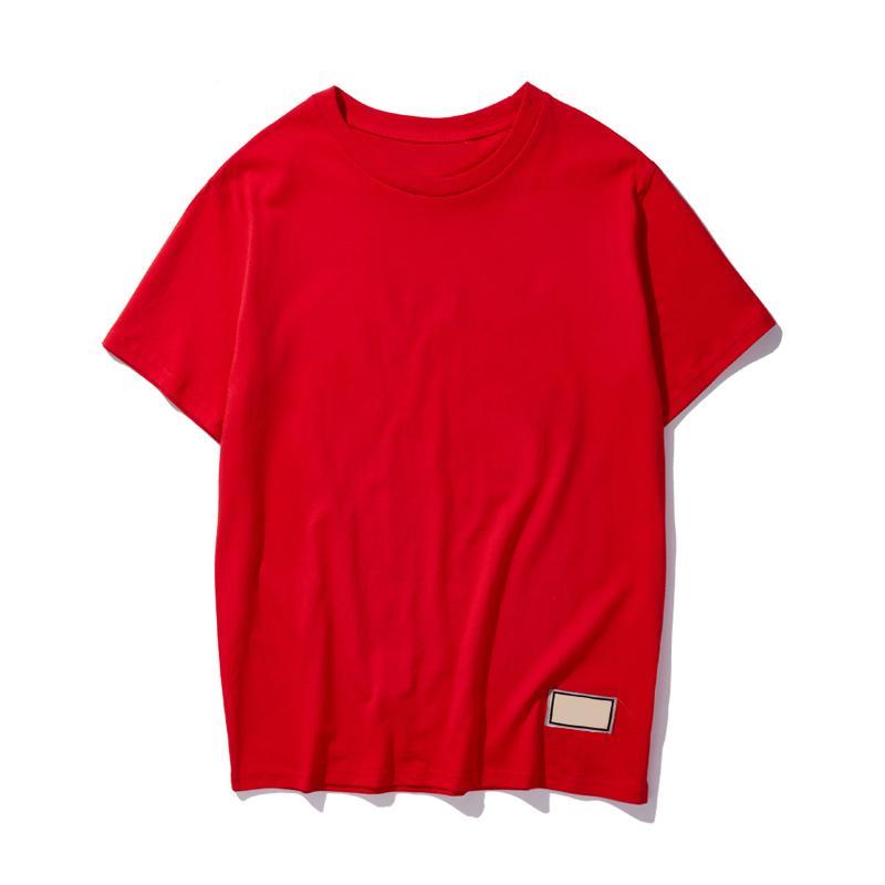 Moda Erkek T Gömlek Yaz Bayan Yüksek Kalite Hip Hop Erkekler Kadın Tasarımcı Polos Erkek Için Yeni Baskı Kısa Kollu Tee