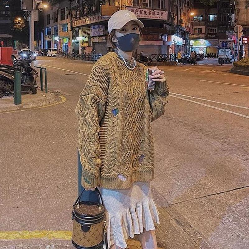 Pulls pour hommes 22SS Twist Twist Broderie Tissu Soft Tissu Sous Taille de l'UE Ader Erreur Sweater Hommes Femmes Hip Hop Automne Hiver Genshin Impact Tiny Spark