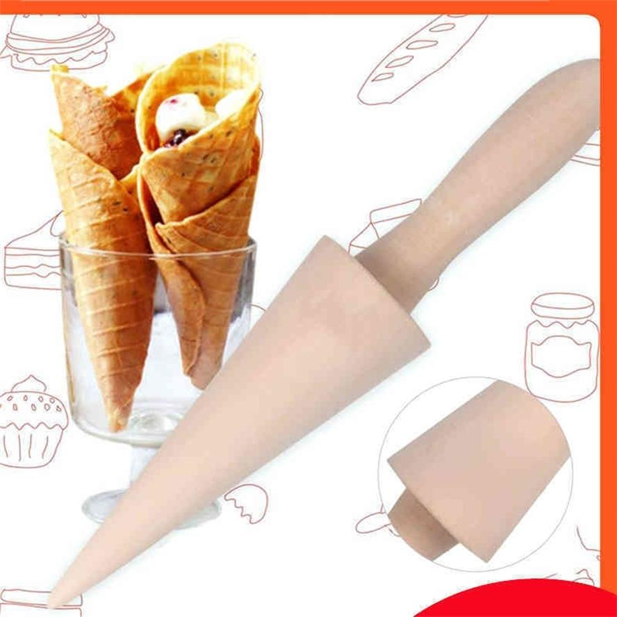 TTLIFE Roll Egg Pancake Mold Ice Cream Cone Maker Accessories Waffle Cake Baking Tool Pan Tools