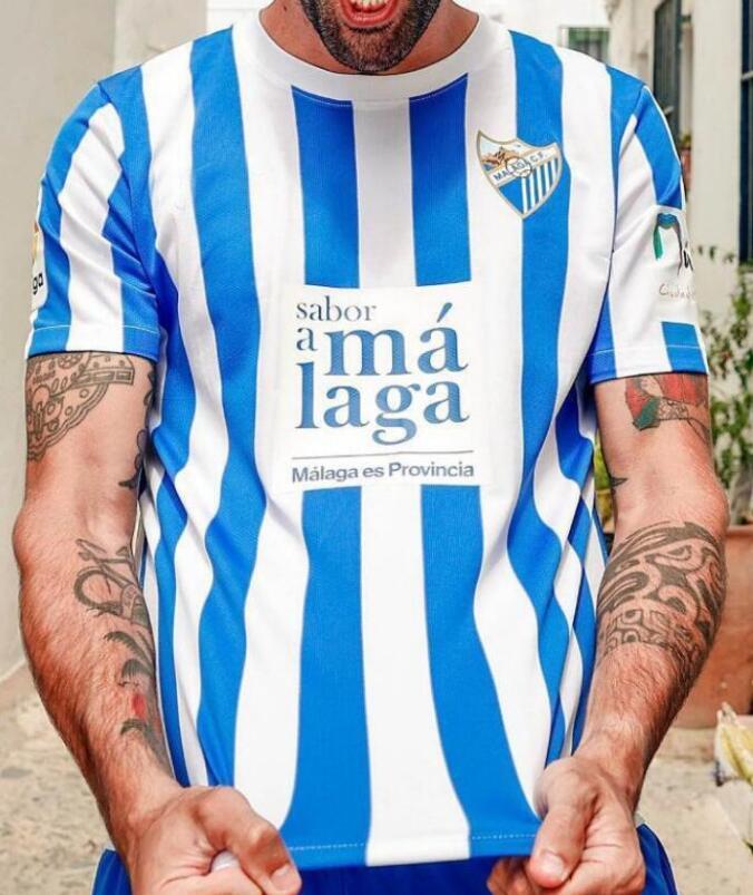 21 22malaga camisas de futebol 2021 2022k. Bare Juanpi Adrian CF Camisa de Futebol Camiseta de Fútbol Juande Hombres Uniformes para adultos