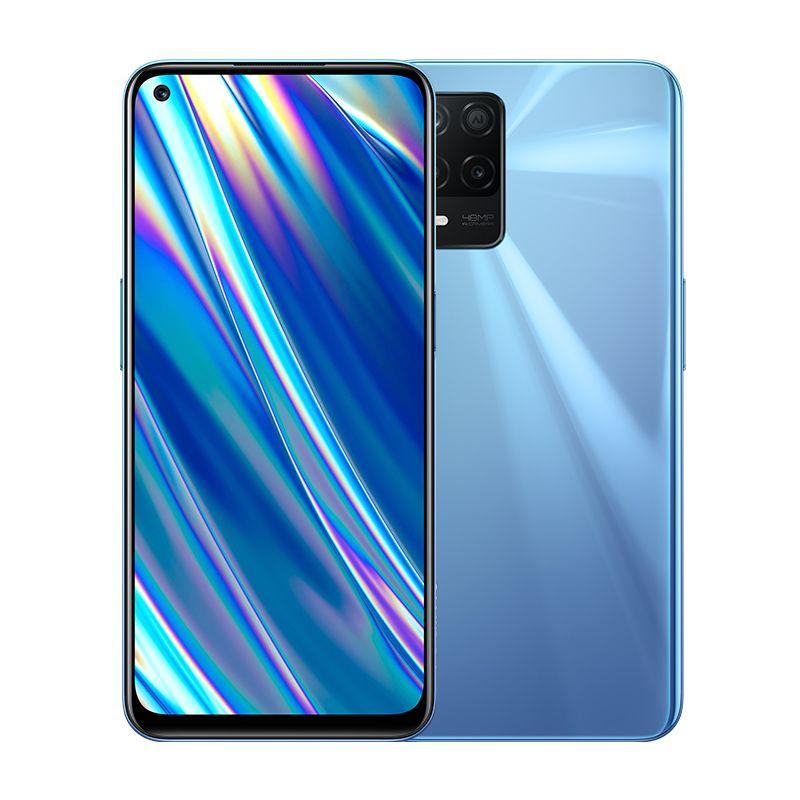 "Original Realme Q3i 5G Mobile Phone 4GB RAM 128GB ROM MTK Dimensity 700 Octa Core Android 6.5"" Full Screen 48.0MP 5000mAh Fingerprint ID Face Smart Cell Phone"