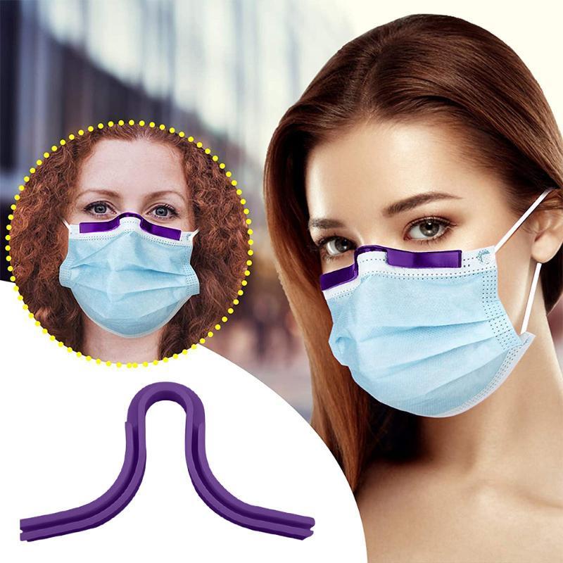 Anti-Fogging Nose Mask Bracket Bridge Clip Support Holder Bar Strip For Caring Health Portable Elements