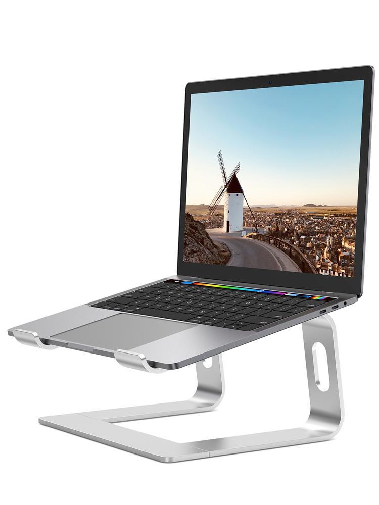 """Computadora portátil soporte de aluminio portátil accesorios de elevador de computadora soporte de refrigeración ergonómico para 10-15.6 """"Laptops 1xbjk2105"""