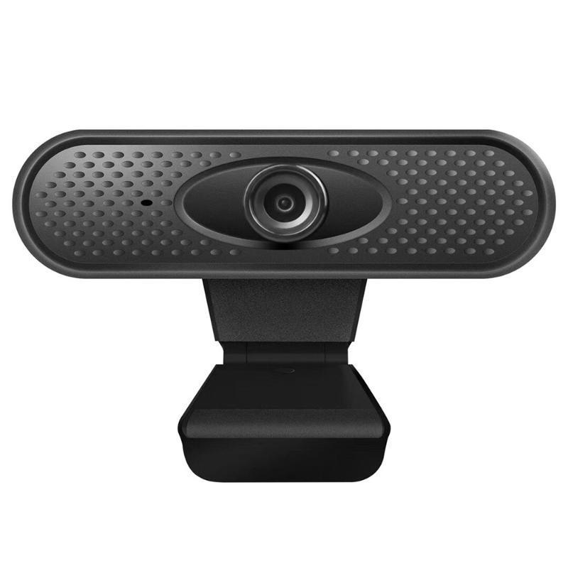 Webcams 1080p Webcam Full HD avec des microphones stéréo intégrés pour ordinateur de bureau ou caméra web pour ordinateur portable